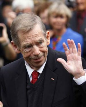 Former Czech president Vaclav Havel, who died this week.