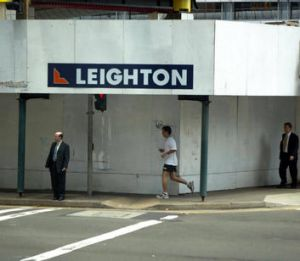 And Leighton managed to turn a $480 million profit into a $427 loss.