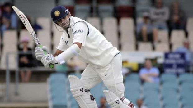 Rahul Dravid … ''in the quiet of your room, it's tough.''