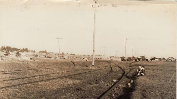 Part of the Outer Circle railway in 1940.