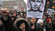 Russians prostest in the thousands (Video Thumbnail)