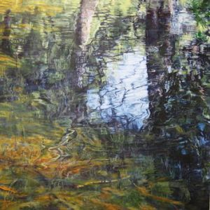 Standout works from 2011 include Lynn Miller's <i>Kangaroo Valley - Sawyers Creek</i>.