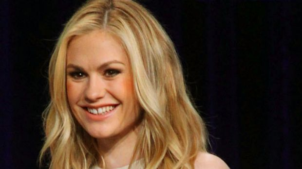 A new classic ... Anna Paquin works the little white dress.
