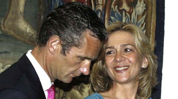 Controversy ... Inaki Urdangarin, with his wife Princess Cristina.