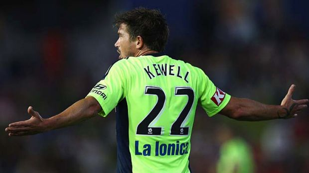 Who, me? Harry Kewell might have to go back to go forward in the A-League.