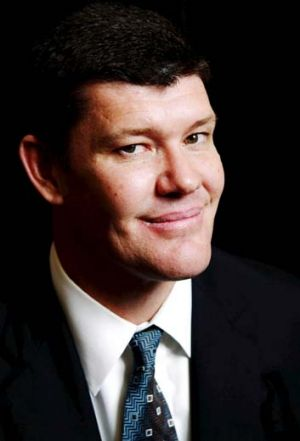 Entrees only … James Packer is showing the benefits.