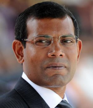 Mohamed Nasheed: '...this is unlike any other thing that has happened before.'