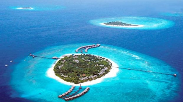 Under threat … most of the Maldives could be uninhabitable by 2100.