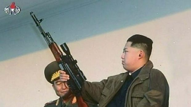 The rocket launch was the first under new North Korean leader Kim Jong-Un.