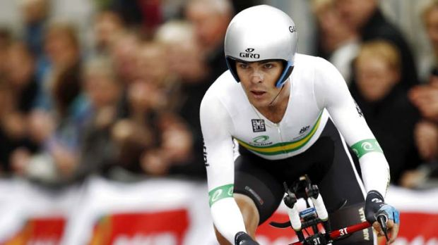 Concern ... Jack Bobridge may not ride for GreenEDGE at the Tour Down Under following his crash in the time trial at the ...