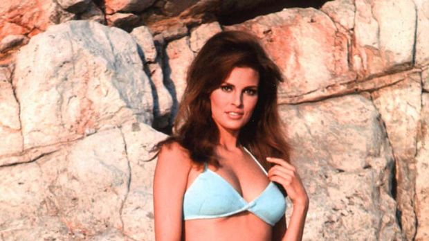 Hot pursuit … 1970s women aspired to Raquel Welch's athletic look.