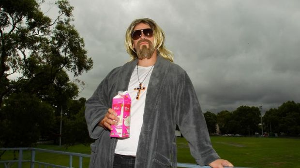 """Chilled out ... Ronald Tucker likes Australia's """"Dudeist lifestyle""""."""