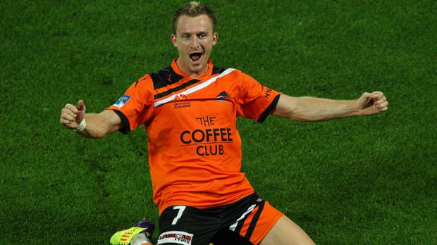 Brisbane Roar striker Besart Berisha re-signed with the club for two more years this week.