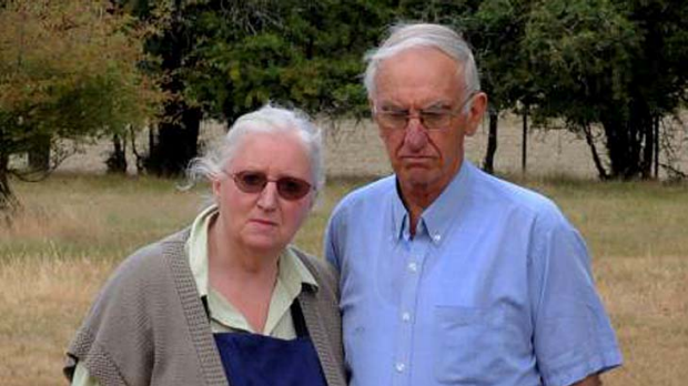 Smeaton residents Carmel and Bernard Righetti.