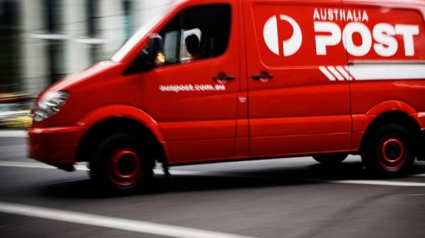 Australia Post's parcel service is struggling to keep up, says union.