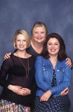 Star power ... the comedy power trio of <i>Big Girl's Blouse</i>.