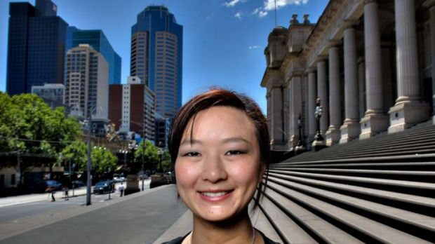 Wesa Chau, a former Young Victorian of the Year, says ethnic Chinese are under-represented in public life.