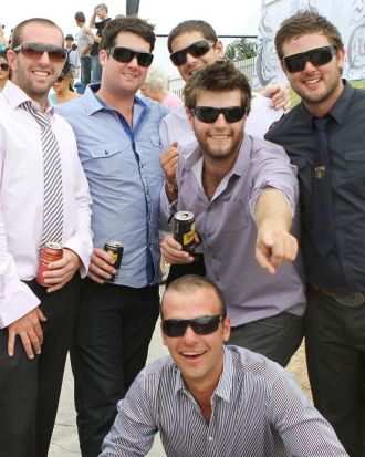 Punters at play at the Magic Millions.