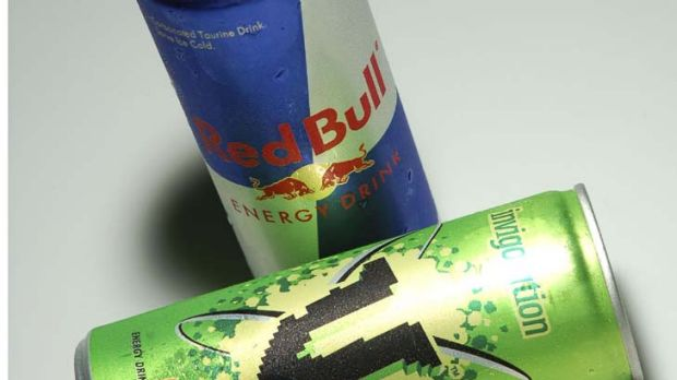 High voltage ... Red bull and V accounted for two thirds of  energy drink-related cases reported to the NSW Poisons ...