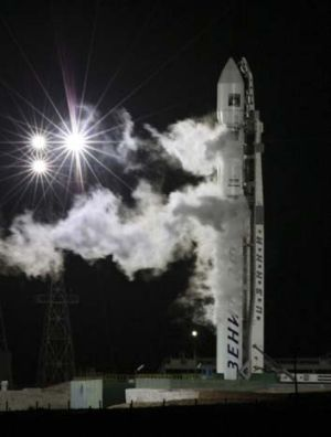 What goes up ... Phobos-Grunt lifts off on November 9.