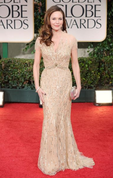 Diane Lane arrives at the 69th Annual Golden Globe Awards.