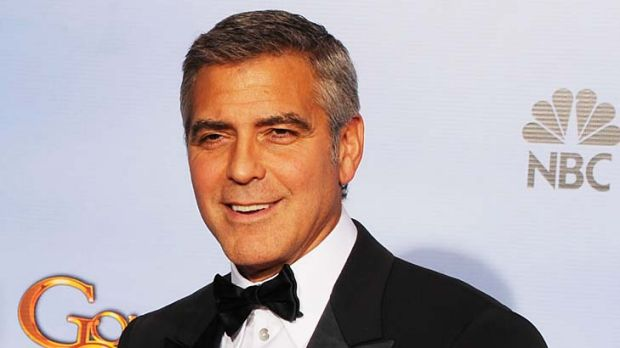 Leading the pack ... George Clooney.
