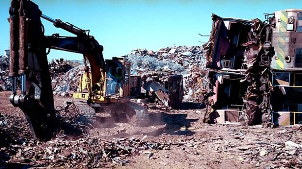 Putting in the hard yards … Sims Metal has been a major supplier of material to its Asian target, Chiho-Tiande ...