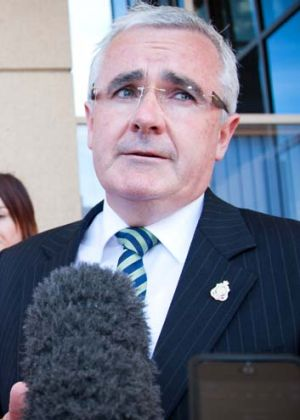 """If I was to walk away the government wouldn't necessarily fall over"" ... Andrew Wilkie."