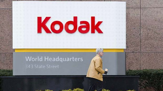 Kodak ... filed for bankruptcy.