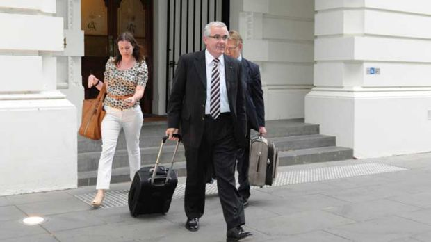 Mr Wilkie after talks with the Prime Minister last night.
