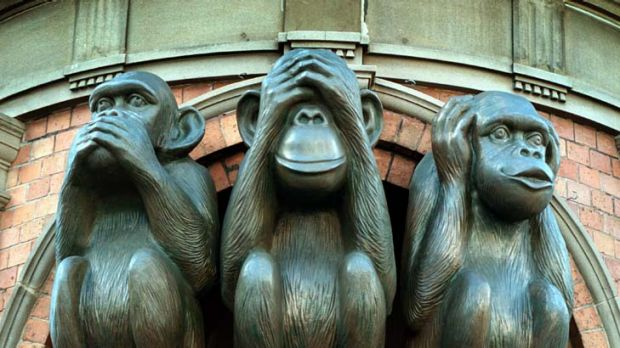 "Speak, see, hear no evil ... ""Victims and witnesses should not be  treated the same as the accused."""