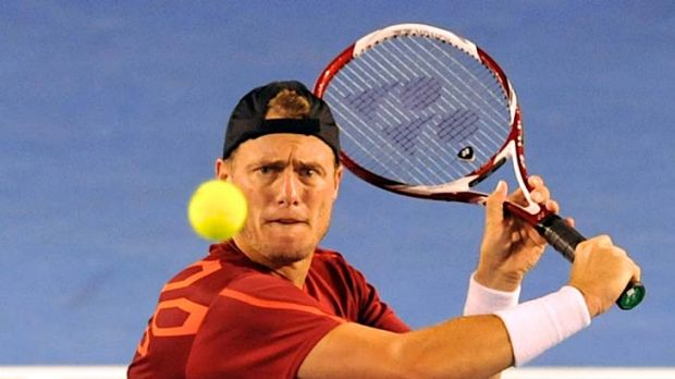 Tournament to remember, so far, for Lleyton Hewitt.