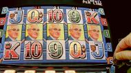 DIGITALLY ALTERED IMAGE / ILLUSTRATION: Artwork for The Age business, 4 September 2010. Poker machine with Andrew ...