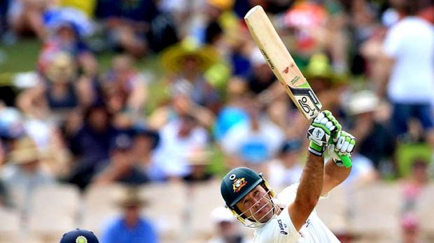 Ricky Ponting has scored his second century of the series.