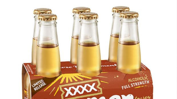 XXXX Summer Cloudy ginger beer is set to hit the shelves in February.