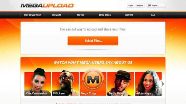 Major victory ... the closure of file-sharing site Megaupload.com was good news for record label bosses.