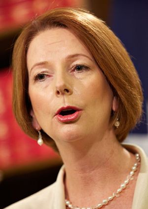 Critics have accused Prime Minister Julia Gillard of being too pro-Israel on Middle East issues.
