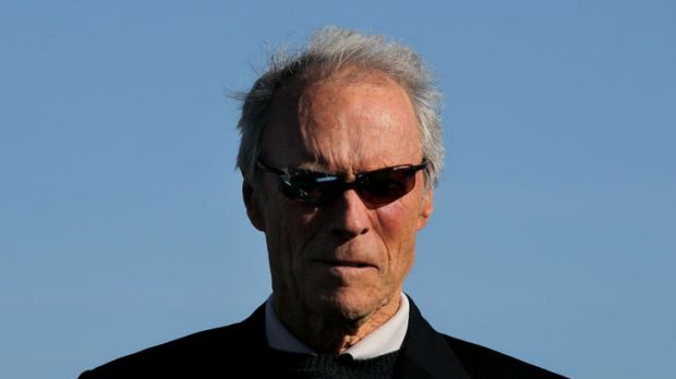 Clint Eastwood defined macho in movies in the 20th Century. Now he's directing a film that features two men kissing.