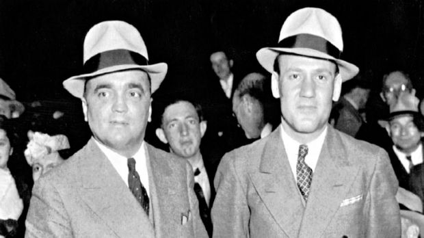 Hoover and Tolson in 1936.