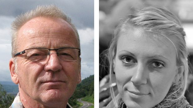 Rescued ... Poul Hagen Thisted from Denmark and American Jessica Buchanan.
