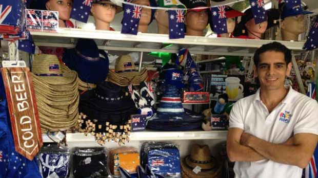 Online sales at The Party People are up 50 per cent from last Australia Day.