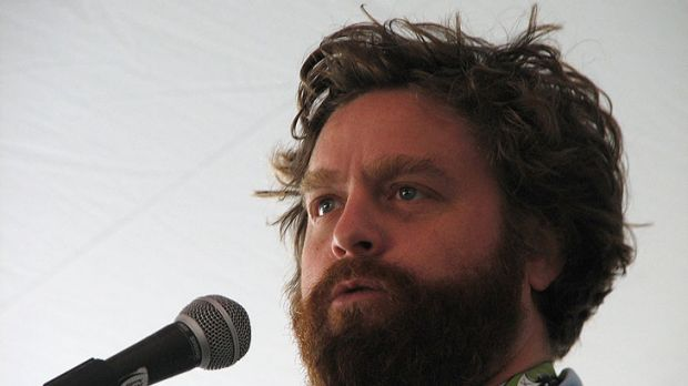 Zach Galifinakis ... plays a character named Hobo Joe in the new Muppets movie.