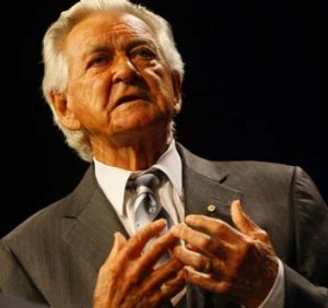 """I tell you what, any boss who sacks anyone for not turning up today is a bum"" ... Bob Hawke speaks out in 1983."