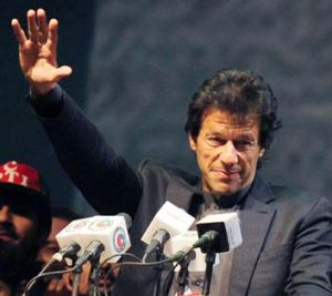 Untainted ... Imran Khan.