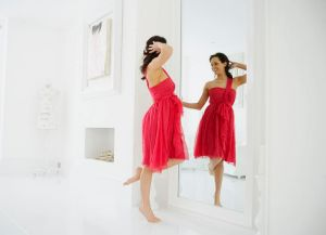 Image conscious ... appearance is often more important to women's self-esteem.