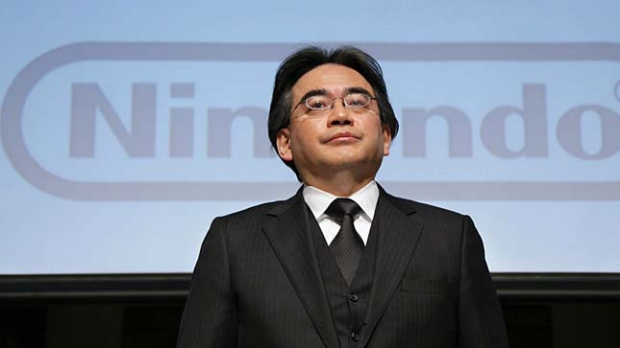 Nintendo president Satoru Iwata speaks at a press conference in Tokyo on Friday.
