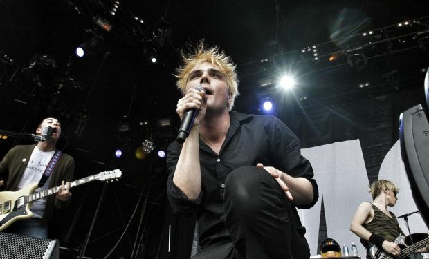 My Chemical Romance perform at the Big Day Out.