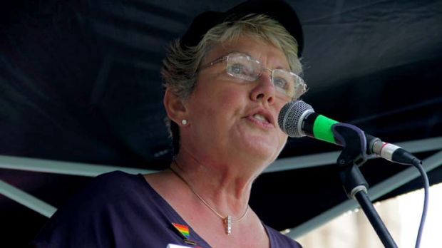 Tony Abbott is out of step with the public ... Parents and Friends of Lesbians and Gays spokesperson, Shelley Argent.