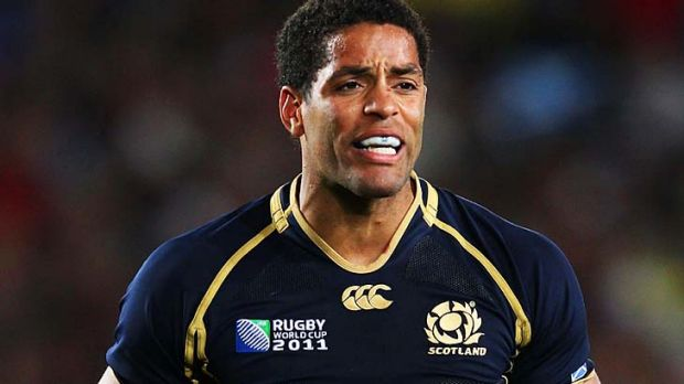 Injury blow ... centre Joe Ansbro will be missing for Scotland in the opening round of the Six Nations against England.
