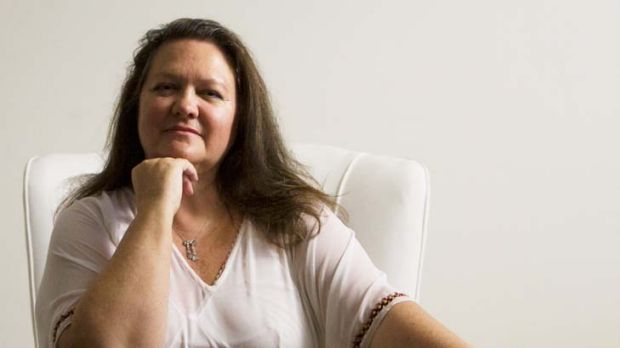 Gina Rinehart ... gave up her discretion to share the spoils as she saw fit.